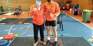 El Valencia Club de Halterofilia logra el bronce en el Campeonato de España