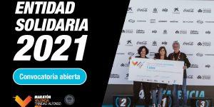 Maratón Valencia abre el plazo para presentarse como entidad solidaria en 2021