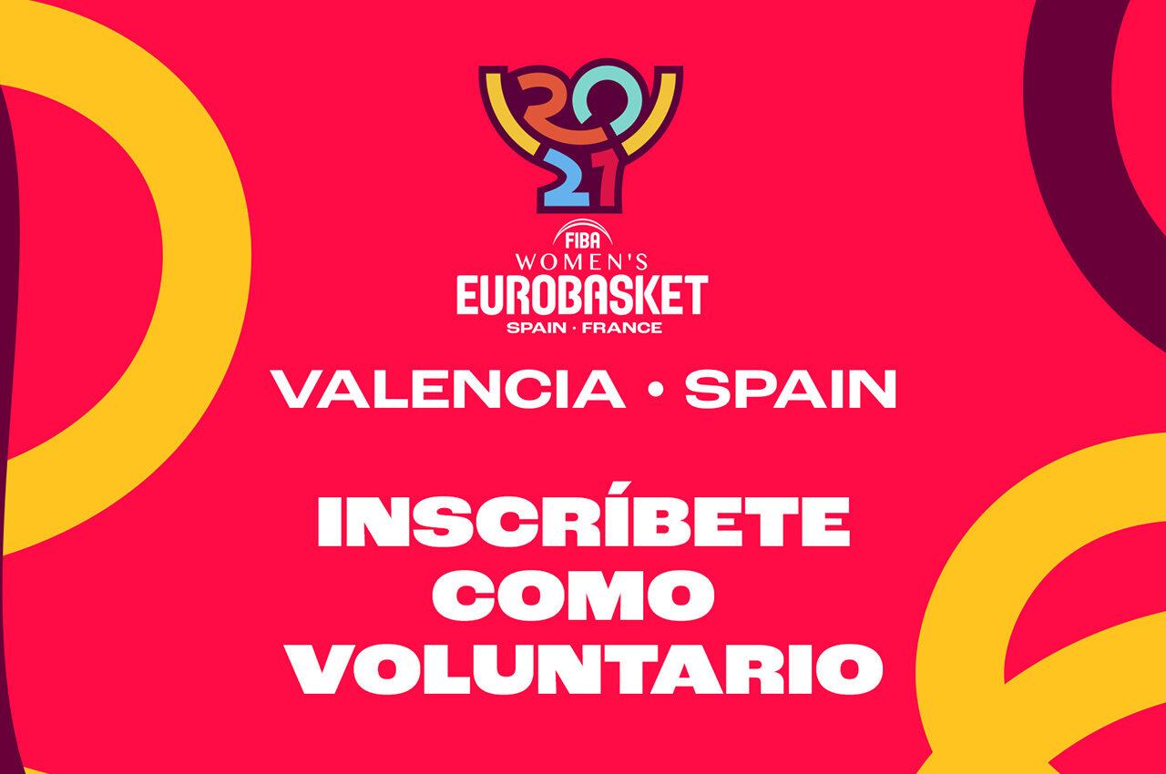 ¿Quieres ser voluntario/a del EuroBasket 2021?