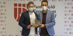 La Fundació Esportiva Municipal de València reprén les recepcions individuals als guanyadors dels XX Premis al Mèrit Esportiu