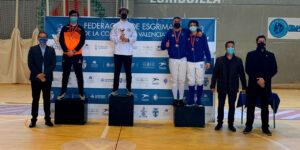 El Esgrima Marítim se proclama Campeón Autonómico Junior por equipos