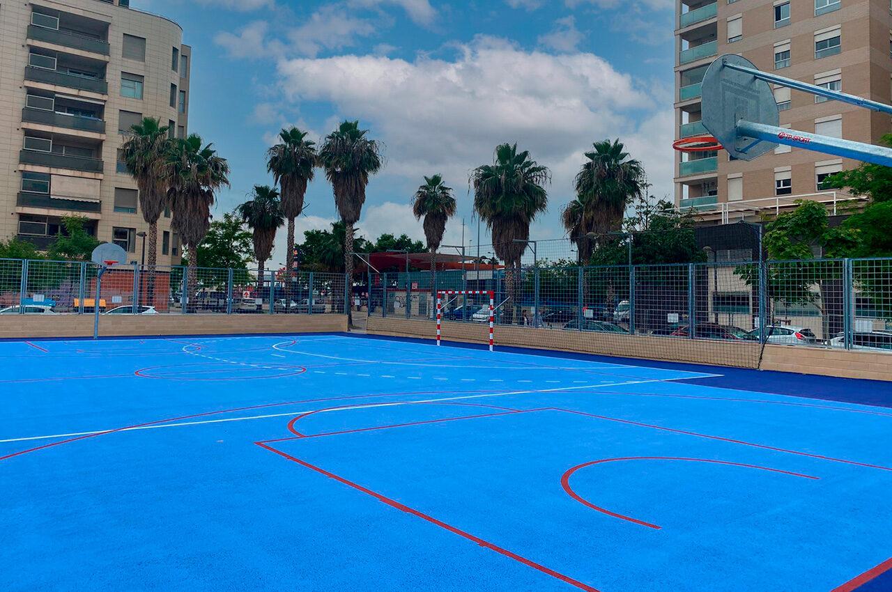València renueva las Instalaciones Deportivas Elementales de los barrios de la ciudad