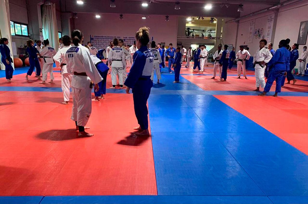 El Judo Internacional prepara els Jocs Olímpics en Benimaclet