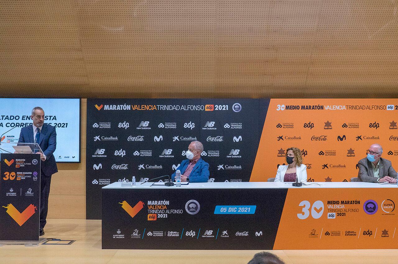 El Medio i Maratón València es marquen l'objectiu de veure córrer a tots els que tenen dorsal per a 2021