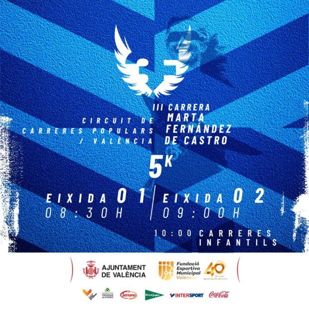 La Carrera Marta Fernández de Castro se celebrarà el 13 de juny amb totes les mesures anti-Covid per a garantir la seguretat i el benestar dels participants. Aquesta carrera, que obri inscripcions el dia 1 de juny, és la tercera que se celebra a la ciutat.