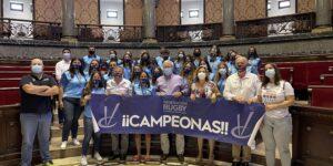 L'Ajuntament de València rep a la Selecció Valenciana Femenina Sub 18 de rugbi