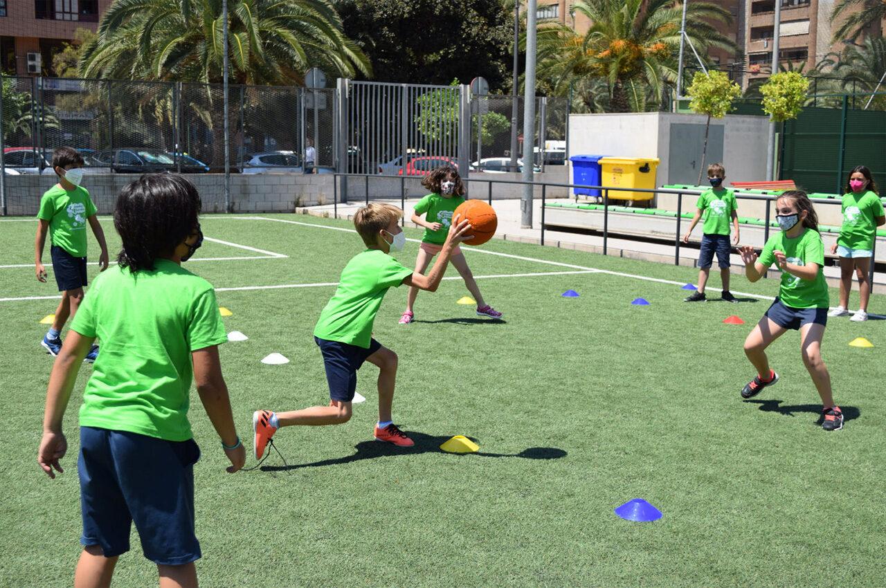 Esport i valors als campus d'estiu