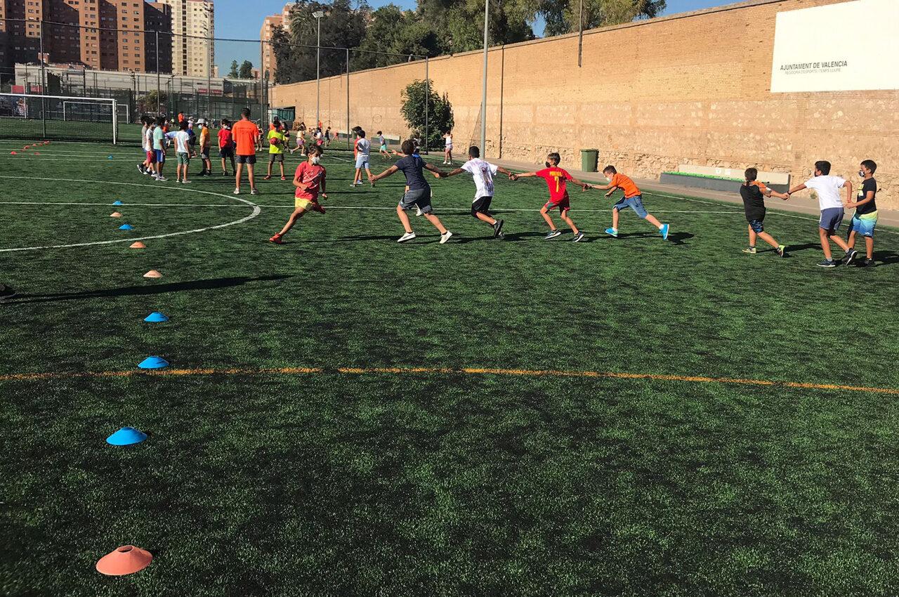 6.000 menors valencians gaudeixen de l'esport segur a les Escoles Esportives d'Estiu de la Fundació Esportiva Municipal