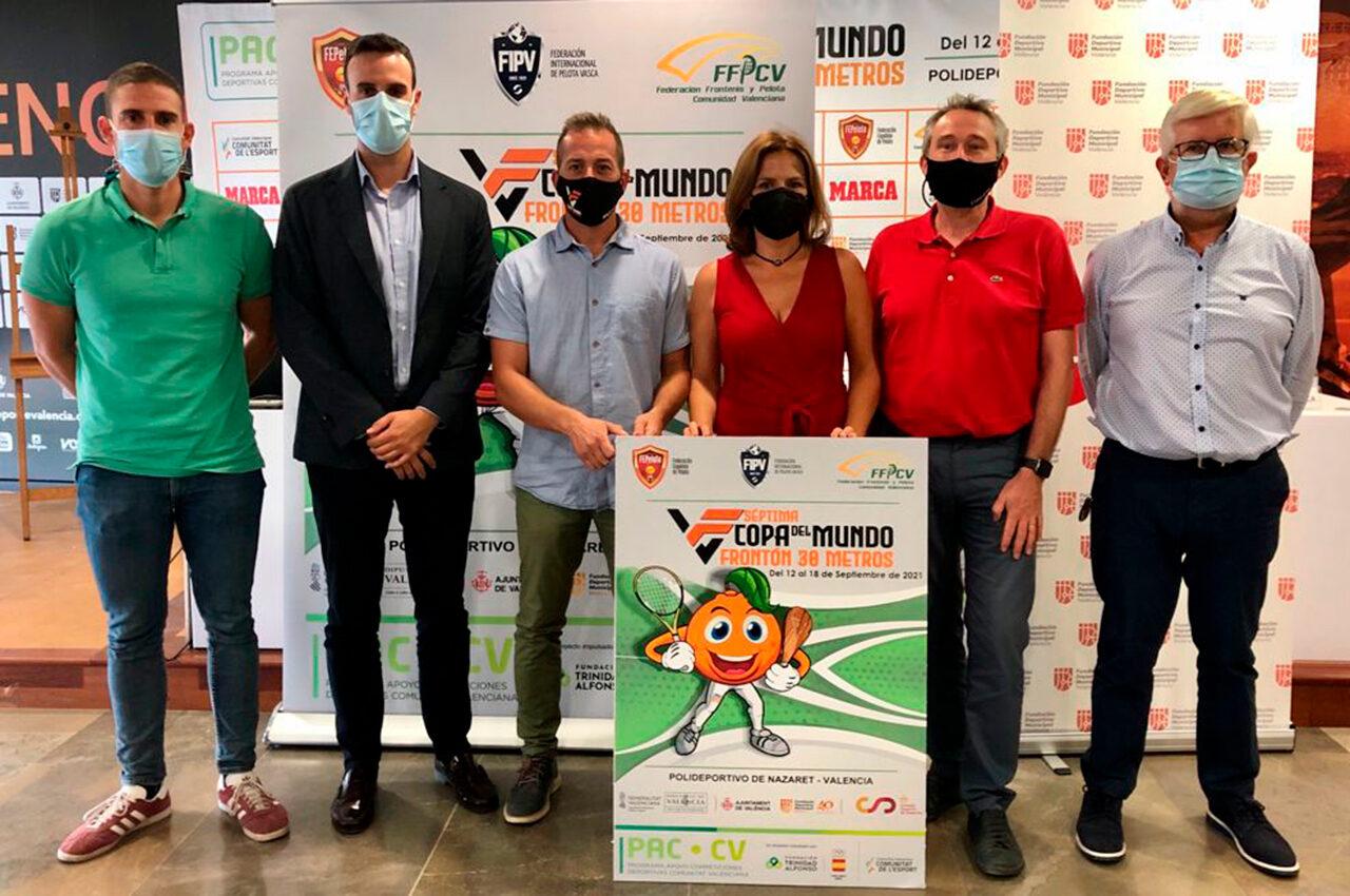 El torneig internacional de frontó, que es durà a terme entre el 12 i el 18 de setembre, torna al Poliesportiu Municipal de Natzaret 23 anys després